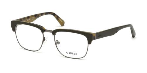 Matte Dark Green Guess GU1942 Eyeglasses