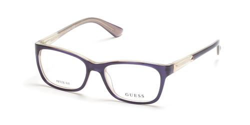 Shiny Blue Guess GU7703 Eyeglasses