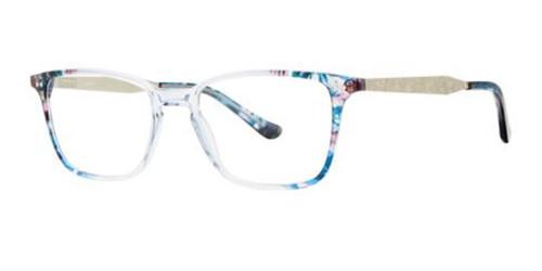 Crystal Blue Kensie RX respect Eyeglasses.