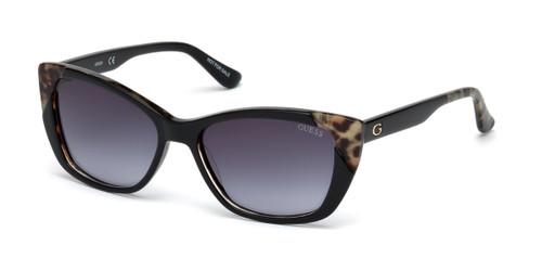 Black/other/Gradient Smoke Guess GU7511 Sunglasses