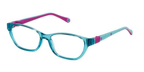 Aqua Fuchsia Life Italia NI-142 Eyeglasses - Teenager