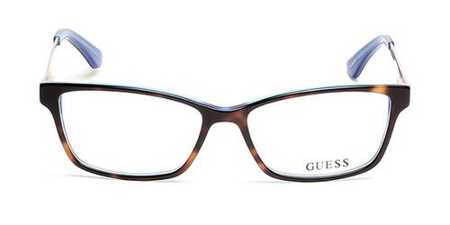 Dark Havana Guess GU2538 Eyeglasses
