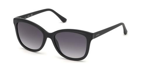 Shiny Black/Gradient Smoke Lenses Guess GU7627 Sunglasses