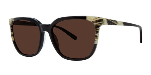 Black Horn Vera Wang V477 Sunglasses.