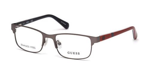 Matte Gunmetal Guess GU9180 Eyeglasses - Teenager
