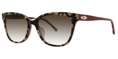 Cranberry Tortoise Vera Wang VAS5 Sunglasses.