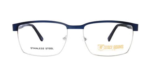 Blue/Silver STACY ADAMS 1101 Eyeglasses