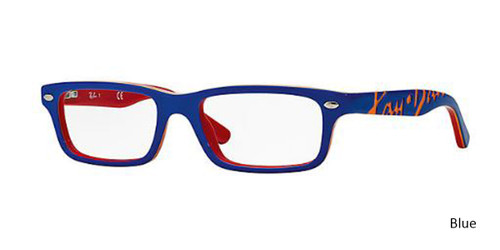 Blue RayBan RB1535 Eyeglasses