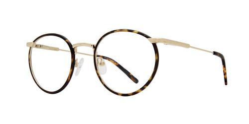 Oilve Gold Brooklyn Heights Coney Eyeglasses