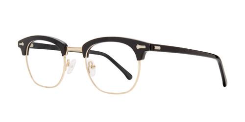 Black Brooklyn Heights Ron Eyeglasses