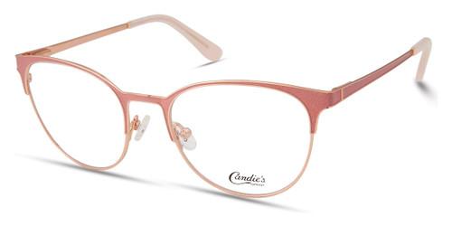 Shiny Pink Candie's Eyewear CA0187 Eyeglasses
