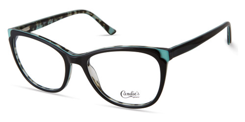Shiny Black Candie's Eyewear CA0188 Eyeglasses