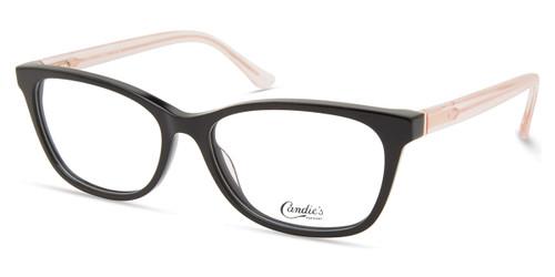 Shiny Black Candie's Eyewear CA0196 Eyeglasses