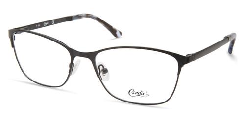 Matte Black Candie's Eyewear CA0197 Eyeglasses