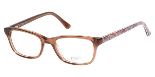 Light Brown Candie's Eyewear CA0504 Eyeglasses