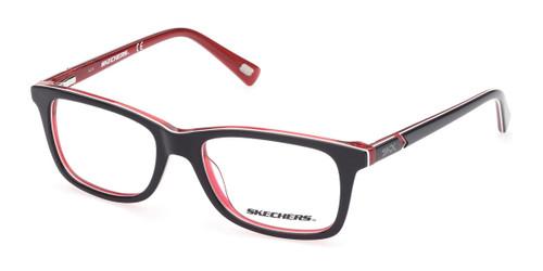 Black Skechers SE1168 Eyeglasses - Teenager