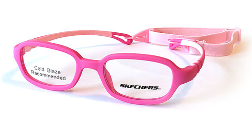 Pink Skechers SE1170 Eyeglasses