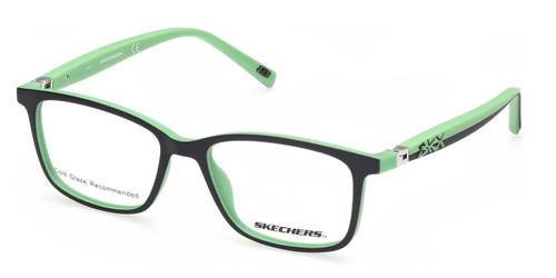 Matte Black Skechers SE1173 Eyeglasses - Teenager