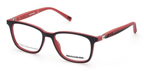 Matte Black Skechers SE1174 Eyeglasses - Teenager