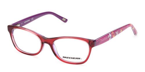 Red Skechers SE1645 Eyeglasses