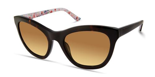 Dark Havana/Gradient Brown Candie's Eyewear CA1034 Sunglasses