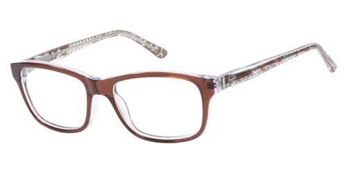 Brown Candie's Eyewear CAA136 Eyeglasses