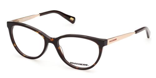 Dark Havana Skechers SE2169 Eyeglasses