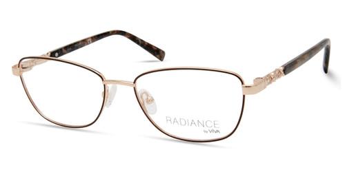 Shiny Rose Gold Viva VV8014 Eyeglasses