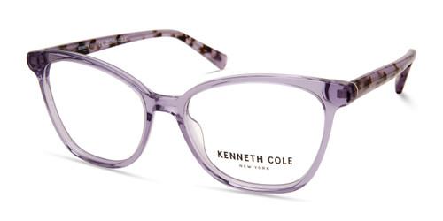 Shiny Violet Kenneth Cole New York KC0327 Eyeglasses