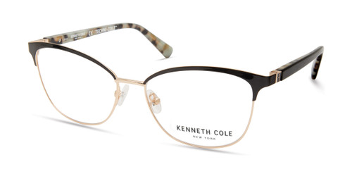 Shiny Black Kenneth Cole New York KC0329 Eyeglasses
