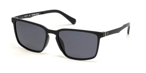 Matte Black/Smoke Polarized Kenneth Cole New York KC7251 Sunglasses