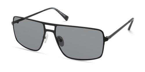 Matte Black/Smoke Polarized Kenneth Cole New York KC7254 Sunglasses