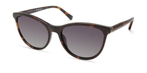 Dark Havana/Green Polarized Kenneth Cole New York KC7255 Sunglasses