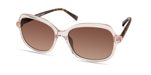Shiny Pink/Brown Polarized Kenneth Cole New York KC7256 Sunglasses