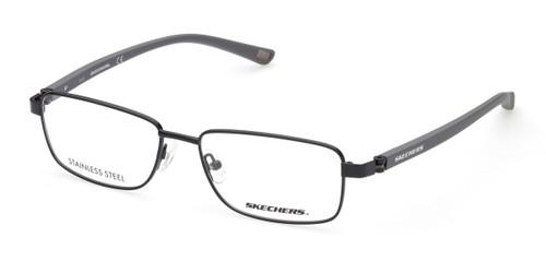 Matte Black Skechers SE3303 Eyeglasses