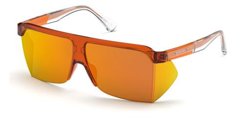 Shiny Orange/Bordeaux Mirror Diesel DL0319 Sunglasses