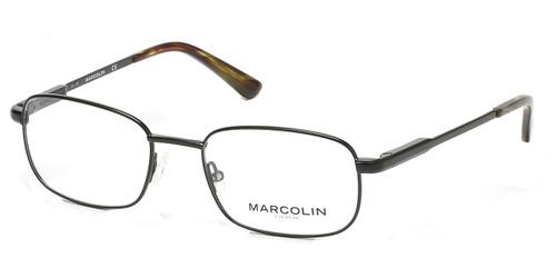 Matte Black Marcolin Eyewear MA3003 Eyeglasses.