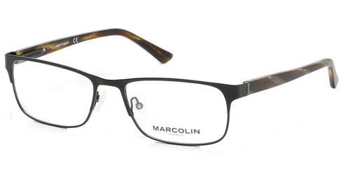 Matte Black Marcolin Eyewear MA3010 Eyeglasses.