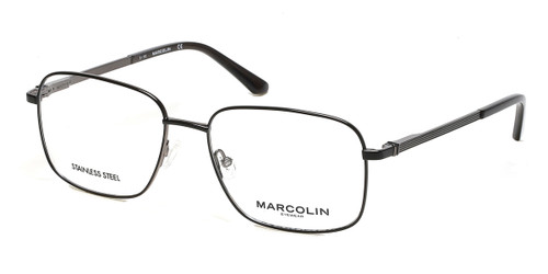 Matte Black Marcolin Eyewear MA3025 Eyeglasses.