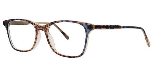 Azure Cheetah Vera Wang V579 Eyeglasses.