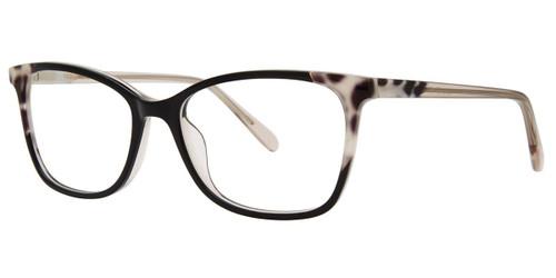 Black Vera Wang V576 Eyeglasses.