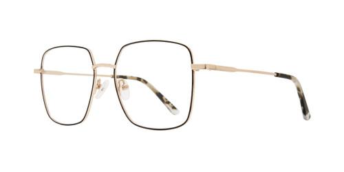 Gold Eight To Eighty Carmela Eyeglasses.