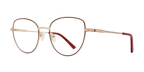 Burgundy Eight To Eighty Lishka Eyeglasses.