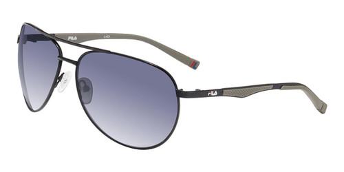 Black Fila SF9487 Sunglasses