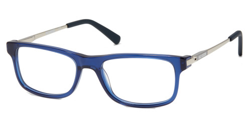 Shiny Blue HARLEY DAVIDSON HD0143T Eyeglasses.