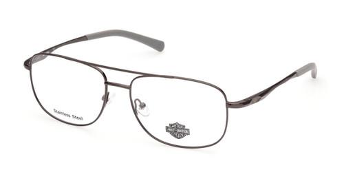 Shiny Gunmetal HARLEY DAVIDSON HD0822 Eyeglasses.