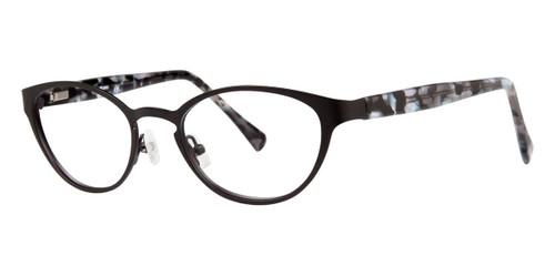Black Vera Wang V331 Eyeglasses.