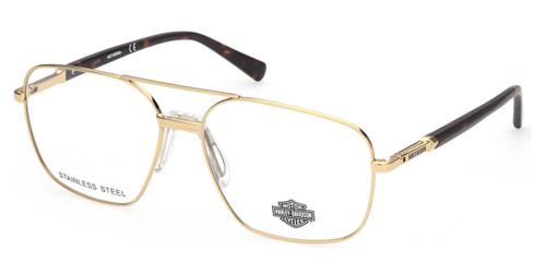 Pale Gold HARLEY DAVIDSON HD0827 Eyeglasses.