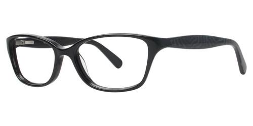 Black Vera Wang V325 Eyeglasses.