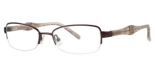 Brown Vera Wang V327 Eyeglasses.